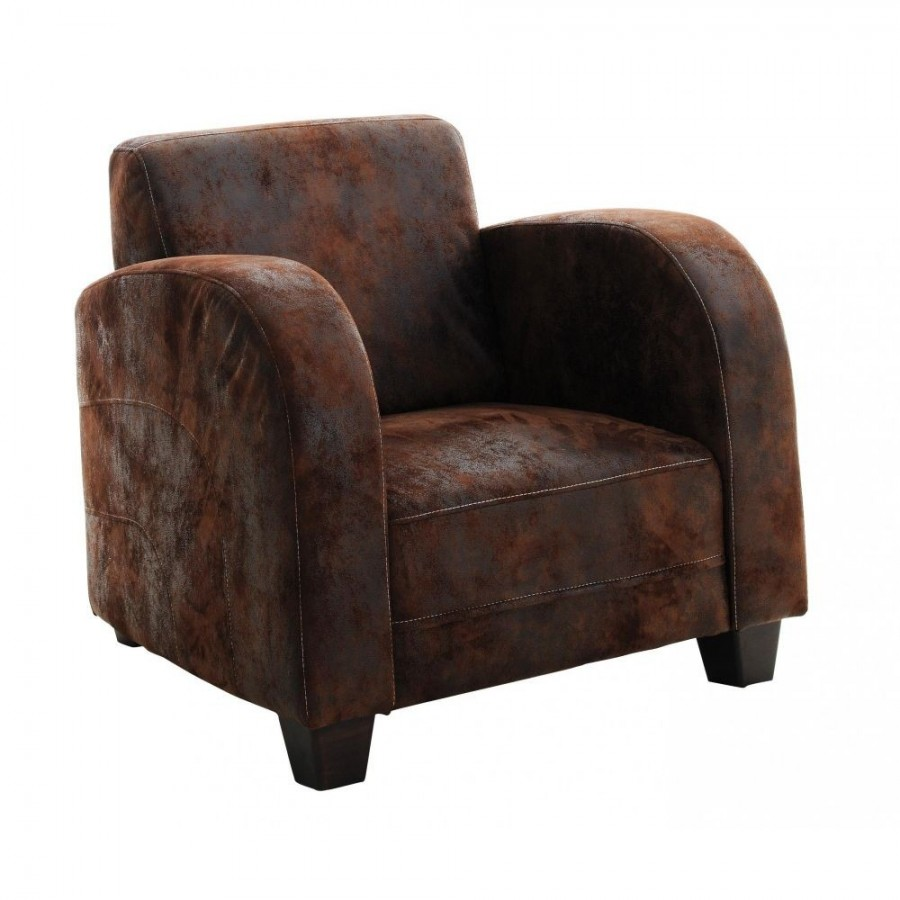Vintage brown Cabb armchair