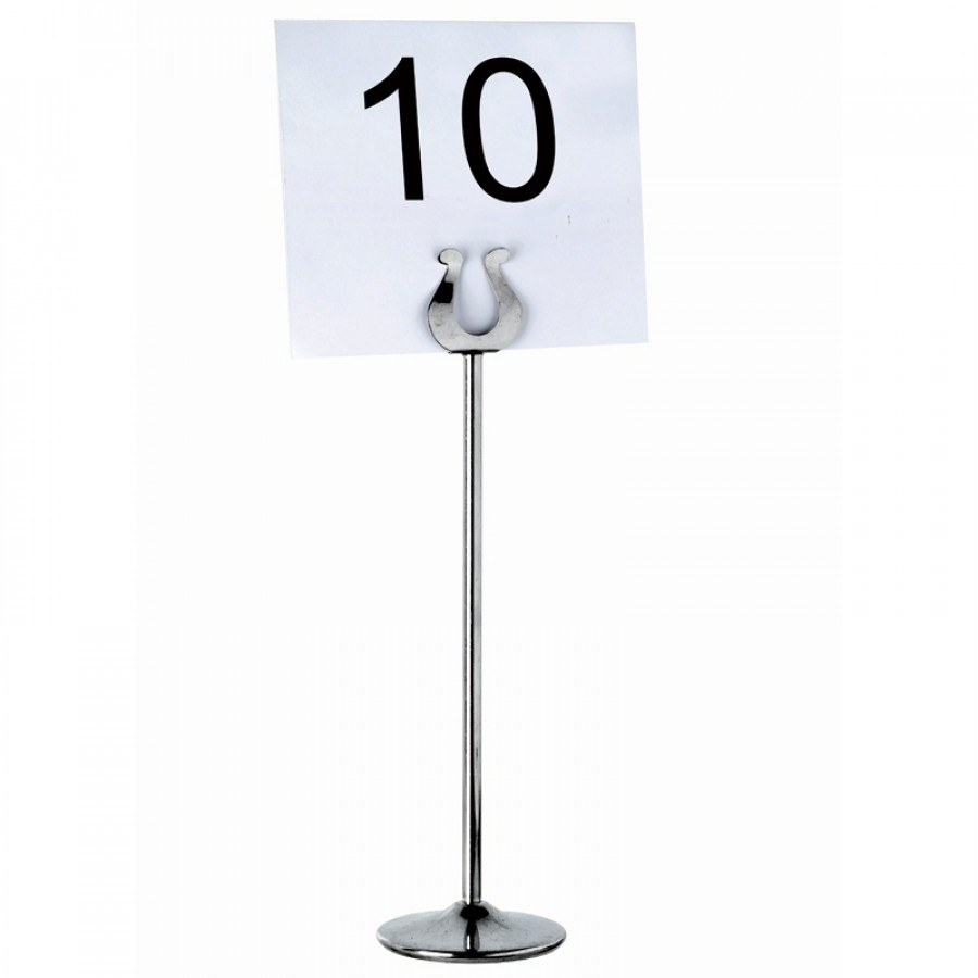 Number holder for table