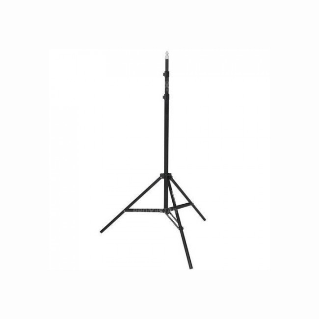 Black tripod for single light