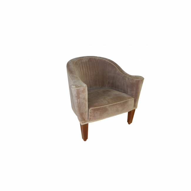 Armchair - Brown