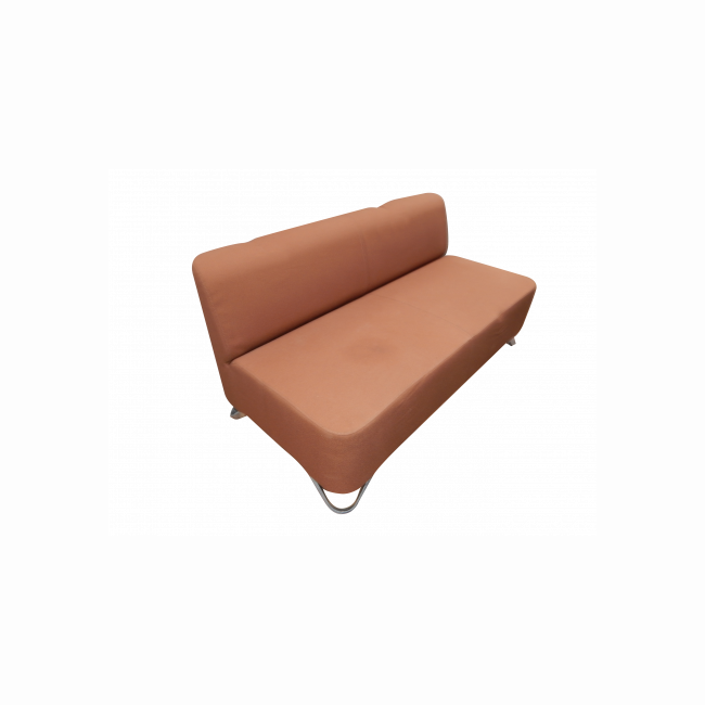 2-seater Sofa PROFIM  - chocolate brown