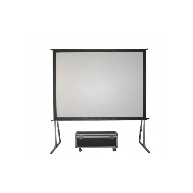 3.6 x 2.7m Fast-Fold 4/3 projection & back-projection screen
