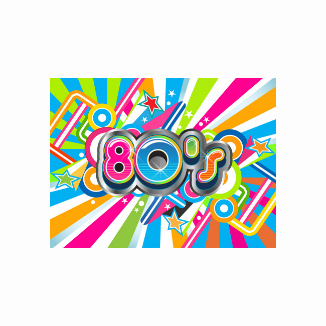 Visual / Photo background - 80's (1)
